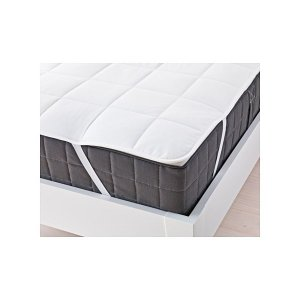 IKEA イケアマットレスプロテクター クイーンサイズ d20255552 KUNGSMYNTA|clair-kobe