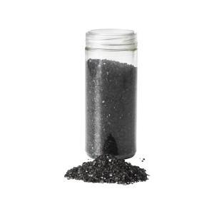 IKEA イケア デコレーション 粉砕ガラス 0.7 kg ブラック d20317178 KULORT|clair-kobe
