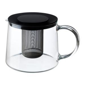 IKEA イケア ティーポット ガラス d30163217 RIKLIG|clair-kobe