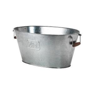 IKEA イケア 鉢カバー 楕円形 室内 屋外用 亜鉛メッキ d30277841 GRASLOK clair-kobe