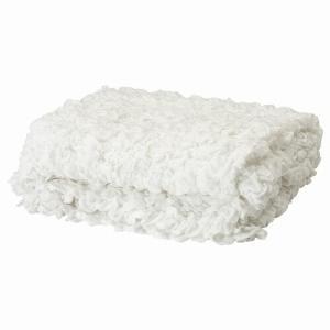 IKEA イケア 毛布 ホワイト ベッドカバー d60173856 OFELIA 130x170cm|clair-kobe
