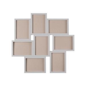IKEA イケア コラージュフレーム 写真8枚用 グレー 13x18 d60352914 VAXBO|clair-kobe