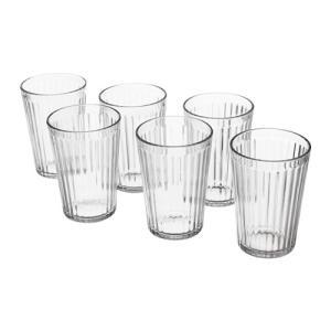 IKEA イケア グラス コップ クリアガラス 6 ピース d80286918 VARDAGEN clair-kobe