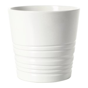 IKEA イケア 鉢カバー ホワイト d80308208 MUSKOT|clair-kobe