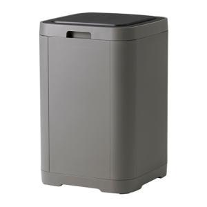 IKEA イケア タッチ式ゴミ箱 ダークグレー d80314073 GIGANTISK|clair-kobe