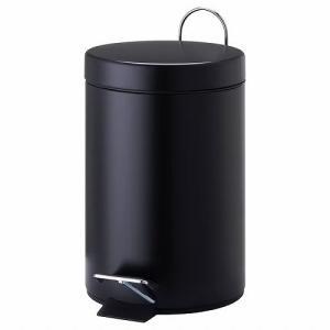 IKEA イケア ペダル式ゴミ箱 ブラック d90284971 VORGOD clair-kobe
