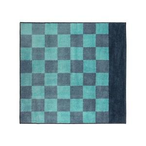 IKEA イケア ラグ カーペット パイル長 ブルー E10358678 STILLSAMT|clair-kobe