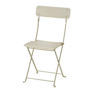 IKEA イケア チェア 椅子 屋外用 折りたたみ式 ベージュ E40311830 SALTHOLMEN|clair-kobe