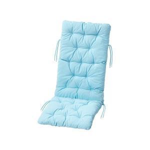 IKEA イケア  シート 背もたれ クッション 屋外用 ライトブルー n00411134 KUDDARNA|clair-kobe