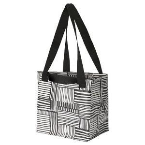 IKEA イケア キャリーバッグ ホワイト ブラック n00429285 FISSLA|clair-kobe