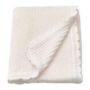 IKEA イケア 毛布 ホワイト n20427110 GULSPARV|clair-kobe