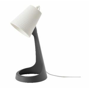 IKEA イケア ワークランプ ダークグレー ホワイト n30358494 SVALLET|clair-kobe
