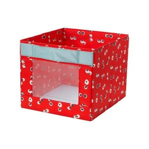 IKEA イケア ボックス レッド n30417945 ANGELAGEN