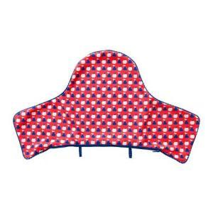 IKEA イケア ベビーチェアカバー ブルー レッド n60426929 ANTILOP|clair-kobe