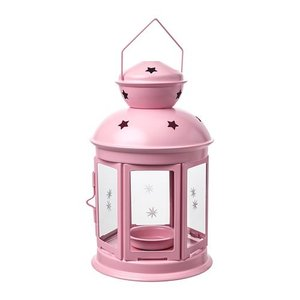 IKEA イケア ティーライト用ランタン ライトピンク n90422430 ROTERA clair-kobe