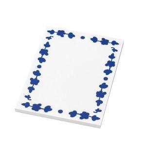IKEA イケア ノートパッド ホワイト ブルー n90428012 ANILINARE clair-kobe