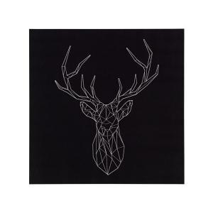 IKEA イケア アート 銀色の鹿 z00319258 PJATTERYD プィエッテリード clair-kobe