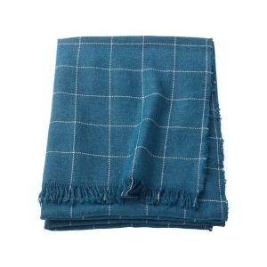 IKEA イケア ひざ掛け ブランケット ブルー z00352295 VARKRAGE|clair-kobe