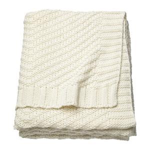 IKEA イケア ひざ掛け ブランケット ホワイト z00353775 JENNYANN|clair-kobe