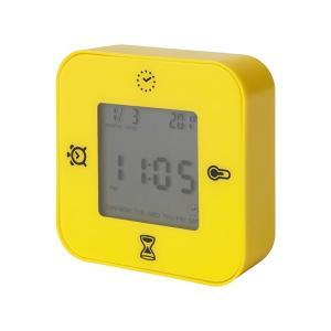 IKEA イケア 時計/温度計/アラーム/タイマー イエロー z00384828 KLOCKIS クロッキス