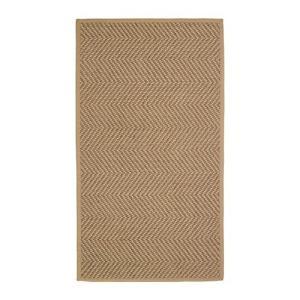 IKEA イケア ラグ カーペット 平織り ナチュラル ブラウン z00407995 HELLESTED|clair-kobe