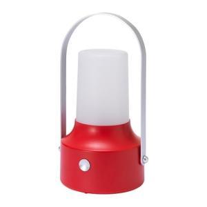 IKEA イケア LED太陽電池式ランタン 屋外用 レッド z00422095 SOLVINDEN|clair-kobe