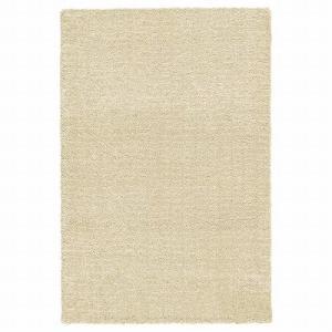 IKEA イケア ラグ カーペット パイル短 ベージュ z10423933 LANGSTED|clair-kobe
