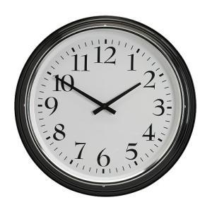 IKEA イケア ウォールクロック 掛け時計 ブラック z20391903 BRAVUR|clair-kobe