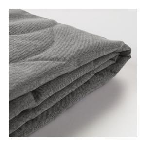 IKEA イケア 3人掛け ソファーベッドカバー クニーサ グレー/ベージュ z30341597 NYHAMN|clair-kobe
