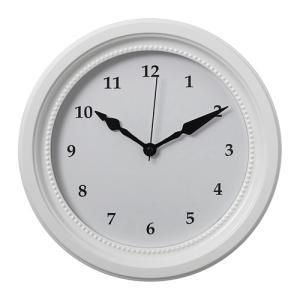 IKEA イケア ウォールクロック 掛け時計 ホワイト z30391912 SONDRUM|clair-kobe
