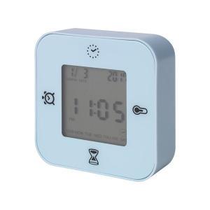 IKEA イケア 時計/温度計/アラーム/タイマー ライトブルー z40384826 KLOCKIS クロッキス