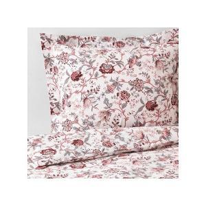 IKEA イケア 掛け布団カバー&枕カバー ホワイトピンク シングル z40390323 SPRANGORT|clair-kobe