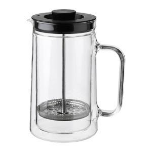 IKEA イケア コーヒー/ティー メーカー ダブルウォール クリアガラス z50358978 EGENTLIG|clair-kobe
