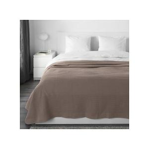 IKEA イケア ベッドカバー ライトブラウン 250cmx230cm z50389079 INDIRA|clair-kobe