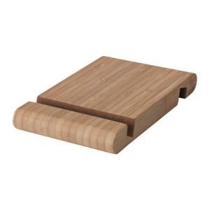 IKEA イケア ホルダー 携帯電話/タブレット用 竹 z70458000 BERGENES ベルゲネス|clair-kobe