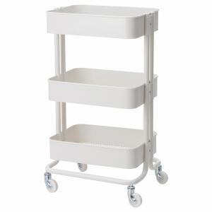 IKEA イケア キッチンワゴン ホワイト z70376721 RASKOG ロースコグ|clair-kobe