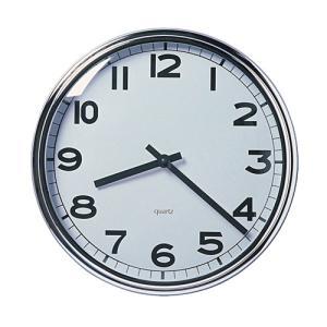 IKEA イケア ウォールクロック 掛け時計 ステンレススチール z90391909 PUGG|clair-kobe