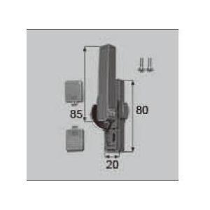 リクシル 窓・サッシ用部品 クレセント アルミサッシ:クレセント 大)L AAAZC22L LIXIL トステム メンテナンス|clair