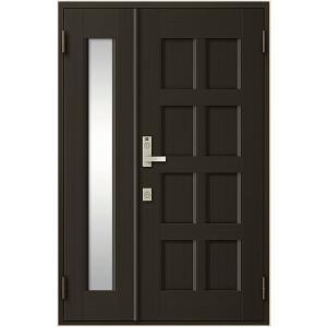 クリエラR 親子ドア 10型 2020モデル 内付型 ランマなし 特注寸法 W:1 新発売 147〜1 リクシル H:1 906mm トステム TOSTEM 297mm × LIXIL