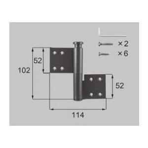 リクシル リビング建材用部品 SL 戸襖、和襖、和障子 戸襖ドア:丁番 FNMB096 LIXIL トステム メンテナンス|clair