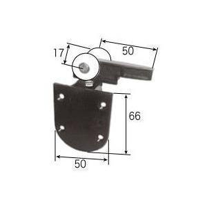 リクシル リビング建材用部品 クローゼット 折れ戸 フリー):吊り車 2 FNMZ218 LIXIL トステム メンテナンス|clair