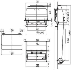 <title>YKK AP 人気の製品 メンテナンス部品 ポスト受箱セット HH-2K-19552-YW</title>