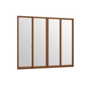 インプラス 引違い窓 4枚建 和紙調複層ガラス 組子なし W:3 001〜4 000mm × 内窓 メーカー公式ショップ H:1 LIXIL トステム TOSTEM おすすめ特集 001〜1 リクシル 400mm 二重窓