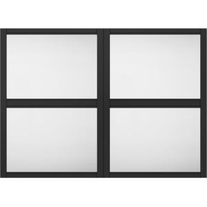 ラシッサS 室内用窓 秀逸 デコマド 窓台設置 両側壁納まり ASTMDW-BE 2列×2段 W:1 132mm × H:825mm LIXIL TOSTEM リクシル DIY トステム スーパーセール期間限定