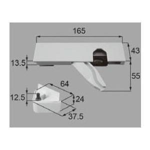 リクシル リビング建材用部品 ドア ソフトモーション:コンパクトドアソフトモーション 右 MZDZCS057R LIXIL トステム メンテナンス|clair