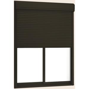 サーモスII-H シャッター付引違い窓 2枚建て 半外付型 一般複層ガラス仕様 気質アップ 新作多数 標準タイプ 手動 18622 230mm W:1 × 900mm リクシル トステム H:2