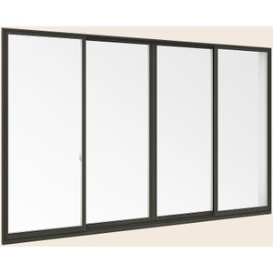 <title>サーモスII-H 一般複層ガラス 樹脂アルミ複合サッシ 引違い窓 単体 サッシ 4枚建 呼称 251244 W:2 550mm × H:2 430mm LIXIL リクシル TOSTEM トステム セール特別価格</title>