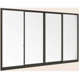 <title>サーモスII-H LOW-E複層ガラス 樹脂アルミ複合サッシ 引違い窓 単体 モデル着用&注目アイテム サッシ 4枚建 呼称 251224 W:2 550mm × H:2 230mm LIXIL リクシル TOSTEM トステム</title>