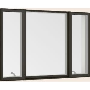 サーモスL アウトレット 縦すべり出し窓 + Fix窓 外押縁 オペレーター Low-E複層ガラス アルミスペーサー W:1 TOSTEM 16513 × 690mm LIXIL 370mm 人気海外一番 H:1