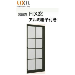 在庫あり デュオPG 複層ガラス 送料無料カード決済可能 アルミ組子付きFIX窓 単体 サッシ 呼称 02609 H:970mm リクシル TOSTEM × LIXIL W:300mm トステム